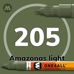 Маркер акриловый Molotow 205 Хаки (Amazonas light) 1.5 мм