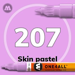 Маркер акриловый Molotow 207 Телесный (Skin pastel) 1.5 мм