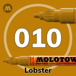 Маркер акриловый Molotow ONE4ALL 127HS 010 Лобстер (Lobster) 2мм