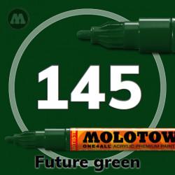 Маркер акриловый Molotow ONE4ALL 127HS 145 Темно-зеленый (Future green) 2мм