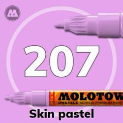 Маркер акриловый Molotow ONE4ALL 127HS 207 Телесный (Skin pastel) 2мм