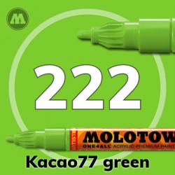 Маркер акриловый Molotow ONE4ALL 127HS 222 Зеленый (Kacao77 green) 2мм