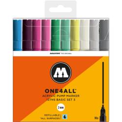 Набор маркеров Molotow One4all 127HS Basic Set 3 10 цветов