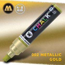 Маркер меловой Molotow CHALK 002 Золото (Metallic_gold) 4-8 мм