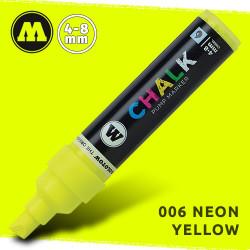 Маркер меловой Molotow CHALK 006 Неоновый желтый (Neon_yellow ) 4-8 мм