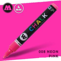 Маркер меловой Molotow CHALK 008 Неоновый розовый (Neon_pink) 4 мм