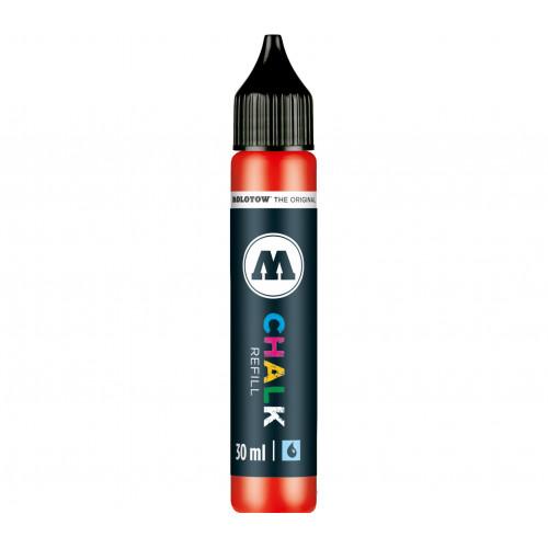 Заправка для меловых маркеров CHALK Refill white (Белая) 30 мл