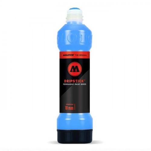 Маркер Molotow Dripstick голубой  (Shock Blue Middle) 10мм 70мл