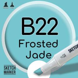 Двухсторонний маркер на спиртовой основе B22 Frosted Jade (Морозный нефрит) SKETCHMARKER