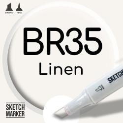Двухсторонний маркер на спиртовой основе BR35 Linen (Льняное полотно) SKETCHMARKER