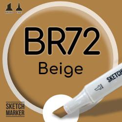 Двухсторонний маркер на спиртовой основе BR72 Beige (Бежевый) SKETCHMARKER