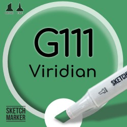 Двухсторонний маркер на спиртовой основе G111 Viridian (Голубовато зеленый) SKETCHMARKER