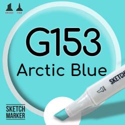Двухсторонний маркер на спиртовой основе G153 Arctic Blue (Арктический голубой) SKETCHMARKER
