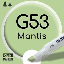 Двухсторонний маркер на спиртовой основе G53 Mantis (Богомол) SKETCHMARKER