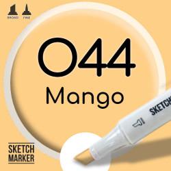 Двухсторонний маркер на спиртовой основе O44 Mango (Манго) SKETCHMARKER