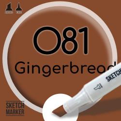 Двухсторонний маркер на спиртовой основе O81 Gingerbread (Имбирный пряник) SKETCHMARKER