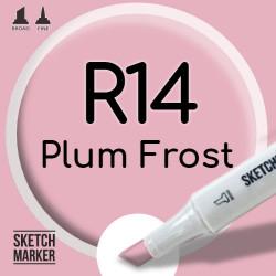 Двухсторонний маркер на спиртовой основе R14 Plum Frost (Морозная слива) SKETCHMARKER