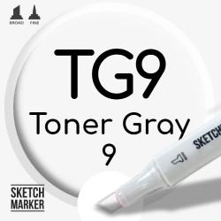 Двухсторонний маркер на спиртовой основе TG9 Toner Gray 9 (Тонированный серый 9) SKETCHMARKER