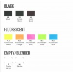 Маркер Sketchmarker BRUSH BL Blender (Блендер) Два пера: кисть и долото. На спиртовой основе