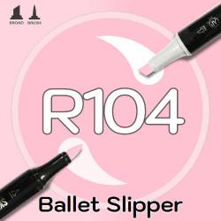 Маркер Sketchmarker BRUSH R104 Ballet Slipper (Пуанты) Два пера: кисть и долото. На спиртовой основе