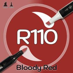 Маркер Sketchmarker BRUSH R91 Rouge (Румяна) Два пера: кисть и долото. На спиртовой основе