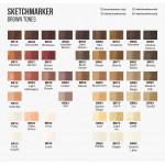 Двухсторонний маркер Sketchmarker на спиртовой основе