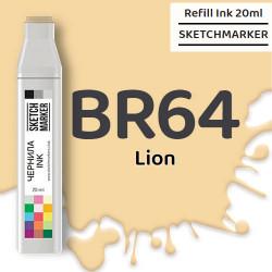 Чернила SKETCHMARKER BR64 Lion (Лев), для маркеров, 20 мл