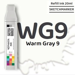 Чернила SKETCHMARKER WG9 Warm Gray 9 (Теплый серый 9), для маркеров, 20 мл