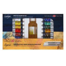 Набор масляных красок Ладога «Подарочный», 12 шт х 18 мл