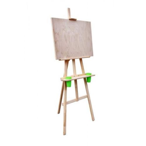 Мольберт  Лира «Комплект» со стаканчиками и планшетом