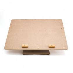 Настольный мольберт для акварельной живописи, МЛ-33