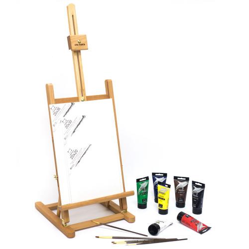 Стартовый набор для живописи акрилом (МЛ-57)