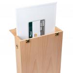Кассетница для этюдов на 8 холстов на картоне 30*40см бук