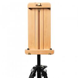 Держатель для холста до 50см с креплением на фотоштативе, бук