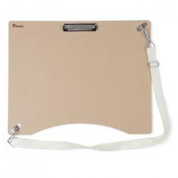 Планшет клипборд DP-4050 Pinax, 40х50 см, с клипсой и плечевым ремнем