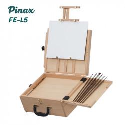 Этюдный ящик FE-L5 Pinax, с креплением на фотоштатив, бук, холст до 45см