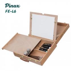 Этюдный ящик FE-L6 Pinax, с креплением на фотоштатив, бук, холст до 45см