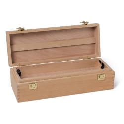 Ящик художника для кистей и красок, со сьемным лотком, бук SB-13