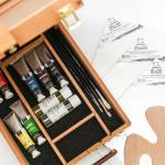 Набор для начинающего художника Тициан, 18 предметов