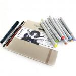 Набор для скетчинга с маркерами Finecolour Junior + мастер-класс