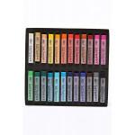 Пастель MUNGYO Gallery мягкая профессиональная квадратная 24 цвета в картонной коробке