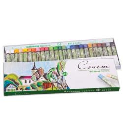 Масляная пастель «Сонет», 24 цвета