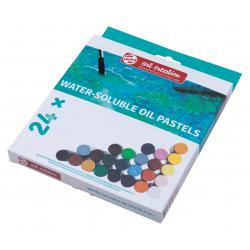 Набор водорастворимой масляной пастели Art Creation 24 цвета в картонной упаковке