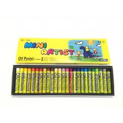 Пастель масляная MINI 25 цветов в картонной коробке