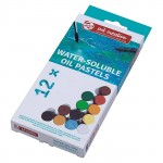 Набор водорастворимой масляной пастели Art Creation 12 цвета в картонной упаковке
