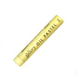 Пастель масляная мягкая «MUNGYO» профессиональная, № 243 Бледно-жёлтый (Pale Yellow)