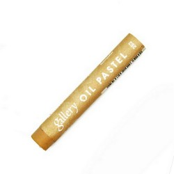 Пастель масляная мягкая «MUNGYO» профессиональная, № 252 Золотая охра (Golden Ochre)