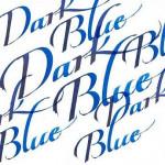 Тушь для каллиграфии Winsor&Newton (синяя крышка), 30мл, темно-синяя