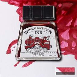Тушь Winsor&Newton, Насыщенно-красный, 14 мл