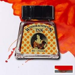 Тушь Winsor&Newton, Оранжевый, 14 мл